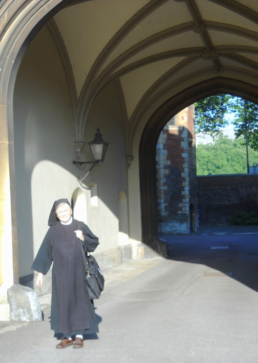 Sister Donald at Lambeth Palace